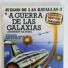 Libri antichi: JUEGO DE BATALLAS, LA GUERRA DE LAS GALAXIAS, SOLO LIBRO, 1977 PLAZA Y JANES, CON FALTAS EN TAPAS. Lote 110137903