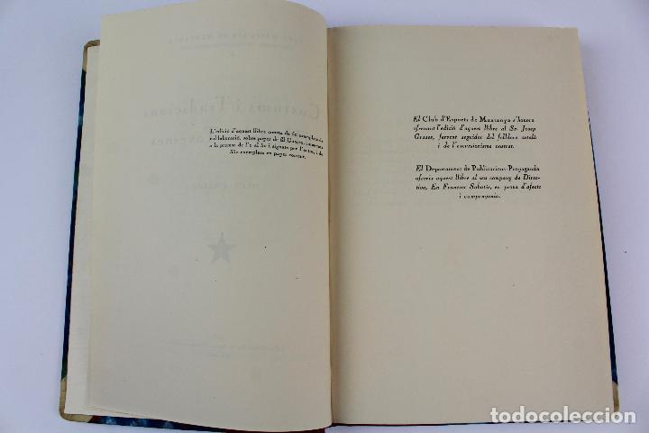 Libros antiguos: L- 915. COSTUMS I TRADICIONS D' HOSTALS I TAVERNES. JOAN AMADES, 1936. - Foto 6 - 110204799