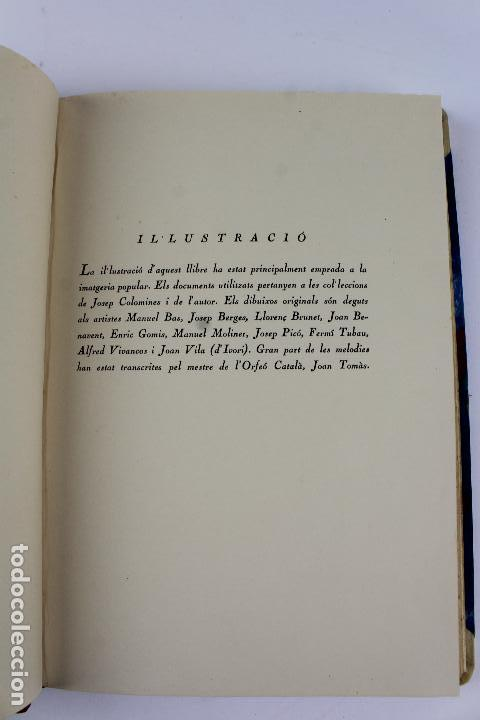 Libros antiguos: L- 915. COSTUMS I TRADICIONS D' HOSTALS I TAVERNES. JOAN AMADES, 1936. - Foto 7 - 110204799