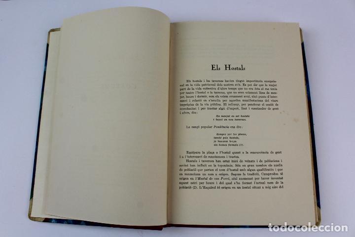 Libros antiguos: L- 915. COSTUMS I TRADICIONS D' HOSTALS I TAVERNES. JOAN AMADES, 1936. - Foto 8 - 110204799