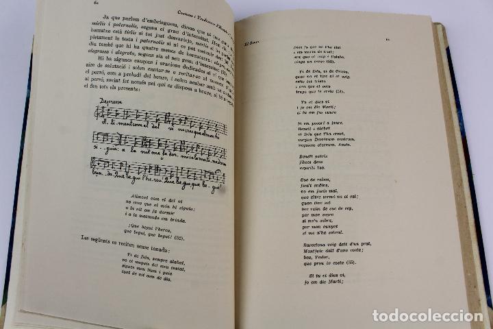 Libros antiguos: L- 915. COSTUMS I TRADICIONS D' HOSTALS I TAVERNES. JOAN AMADES, 1936. - Foto 9 - 110204799