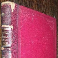 Libros antiguos: SCÈNES DE LA VIE RUSSE DE IVAN TOURGUÉNEFF - PARIS 1887. Lote 110216951