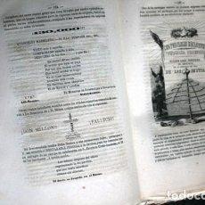 Libros antiguos: EL CARNAVAL DE BARCELONA EN 1860 - J.A. CLAVE / J.M. TORRES - 1860 - IMP. DE EUTERPE. Lote 241893510