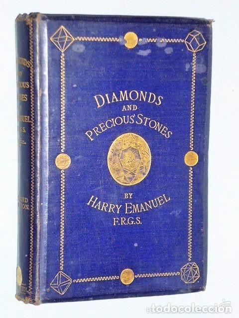 DIAMONDS AND PRECIOUS STONES: THEIR HISTORY, VALUE, AND DISTINGUISHING CHARACTERISTICS (1867) (Libros Antiguos, Raros y Curiosos - Ciencias, Manuales y Oficios - Otros)