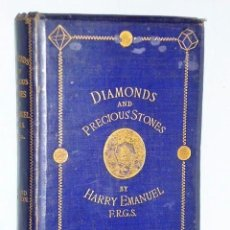 Libros antiguos: DIAMONDS AND PRECIOUS STONES: THEIR HISTORY, VALUE, AND DISTINGUISHING CHARACTERISTICS (1867). Lote 110423075