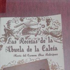 Libros antiguos: LIBRO LAS RECETAS DE LA ABUELA DE LA CALETA DE VELEZ USADO. Lote 110454711