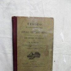 Libros antiguos: TESORO DE CONOCIMIENTOS UTILES LECTURAS CIENTIFICAS AMENAS DE G.M. BRUÑO. Lote 110670967