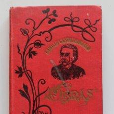 Libros antiguos: CAMILO CASTELO BRANCO- OS MARTYRES. Lote 110679527