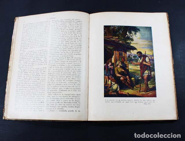 Libros antiguos: EUSTAQUIO, CRISTOBAL SCHMID, RAMON SOPENA 1919 BIBLIOTECA PARA NIÑOS, 62 PAGINAS TAPA DURA - Foto 3 - 110734511