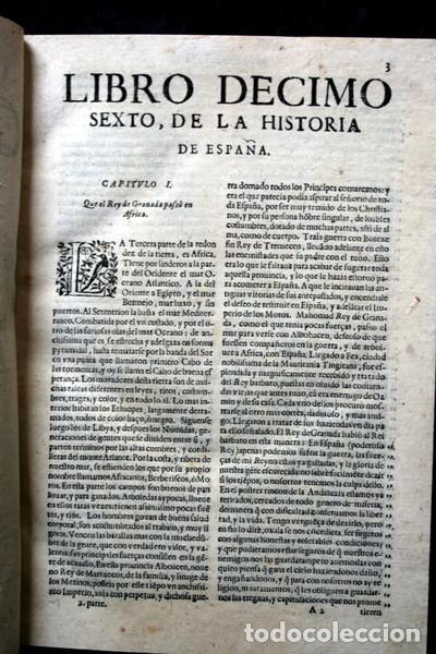 Libros antiguos: 1650 - HISTORIA GENERAL DE ESPAÑA JUAN DE MARIANA - TOMO SEGUNDO - EXCELENTE ESTADO - Foto 2 - 110746427