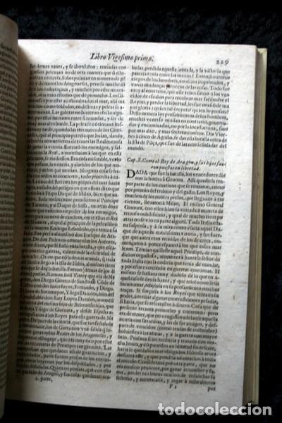 Libros antiguos: 1650 - HISTORIA GENERAL DE ESPAÑA JUAN DE MARIANA - TOMO SEGUNDO - EXCELENTE ESTADO - Foto 12 - 110746427