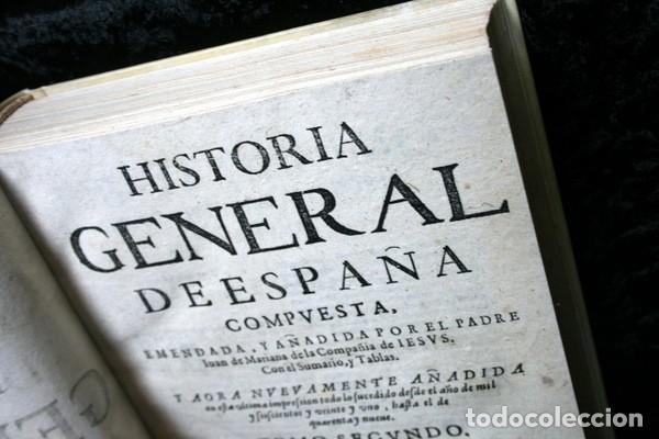Libros antiguos: 1650 - HISTORIA GENERAL DE ESPAÑA JUAN DE MARIANA - TOMO SEGUNDO - EXCELENTE ESTADO - Foto 17 - 110746427