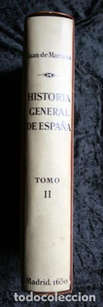Libros antiguos: 1650 - HISTORIA GENERAL DE ESPAÑA JUAN DE MARIANA - TOMO SEGUNDO - EXCELENTE ESTADO - Foto 21 - 110746427
