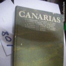 Libros antiguos: GRAN TOMO LIBRO ANTIGUO CANARIAS. Lote 110832331