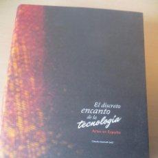 Libros antiguos: ARTE DIGITAL. CATÁLOGO DE LA EXPOSICIÓN: EL DISCRETO ENCANTO DE LA TECNOLOGÍA. Lote 110881227