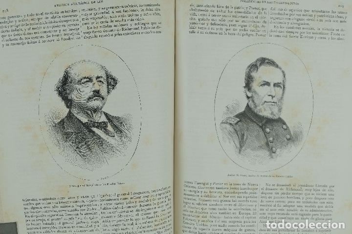 Libros antiguos: Historia biográfica de los presidentes de los Estados Unidos-Enrique Leopoldo de Verneuill 1885 - Foto 6 - 110920763