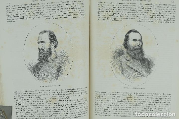 Libros antiguos: Historia biográfica de los presidentes de los Estados Unidos-Enrique Leopoldo de Verneuill 1885 - Foto 7 - 110920763