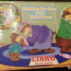 Libros antiguos: RICITOS DE ORO Y LOS TRES OSOS - LIBRO PLEGABLE - PLAYMORE WALDMAN. Lote 111061219