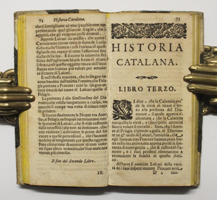 Libros antiguos: HISTORIA CATALANA TRASPORTATA DAL FRANCESE... - CAMUS, Jean Pierre y LOREDANO, Giovanni Francesco. - Foto 4 - 109023128
