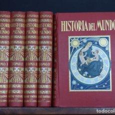 Alte Bücher - HISTORIA DEL MUNDO, I-II-III-IV-V (EDICIÓN COMPLETA EN 5 TOMOS) - PIJOAN, José - 1ª EDICIÓN. - 111098266