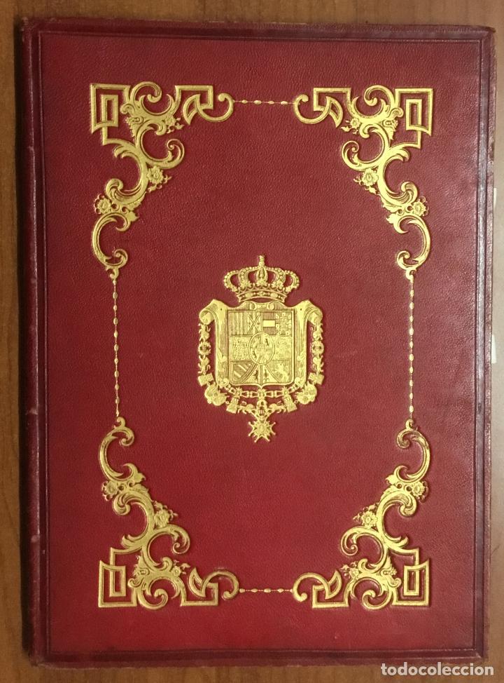REAL DESPACHO DE NOBLEZA Y ARMAS DE DON MANUEL LÓPEZ GAMUNDI VILLANUEVA Y OMS. MANUSCRITO EJECUTORIA (Libros Antiguos, Raros y Curiosos - Historia - Otros)