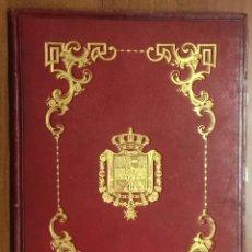 Libros antiguos: REAL DESPACHO DE NOBLEZA Y ARMAS DE DON MANUEL LÓPEZ GAMUNDI VILLANUEVA Y OMS. MANUSCRITO EJECUTORIA. Lote 109020935
