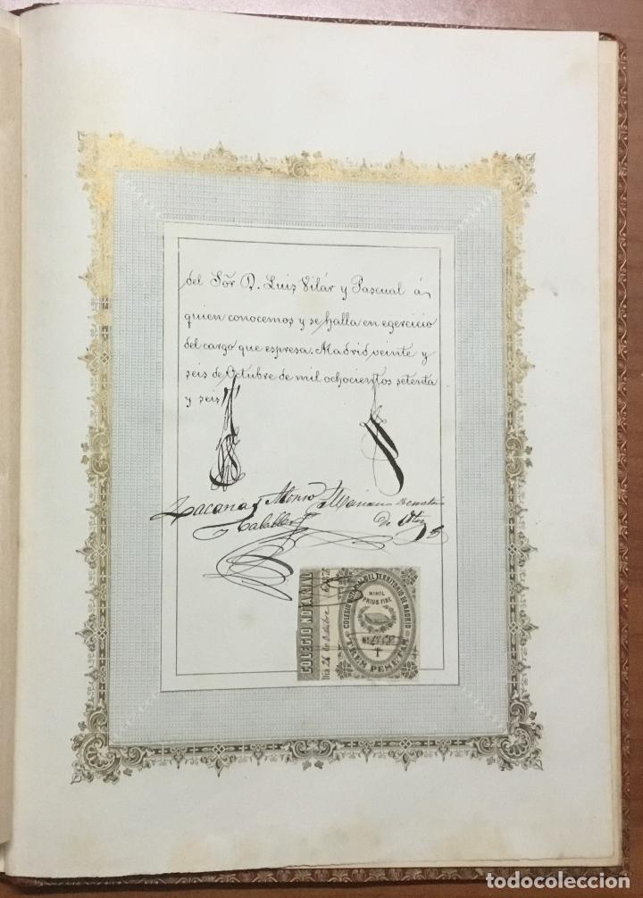 Libros antiguos: REAL DESPACHO DE NOBLEZA Y ARMAS DE DON MANUEL LÓPEZ GAMUNDI VILLANUEVA Y OMS. Manuscrito Ejecutoria - Foto 12 - 109020935