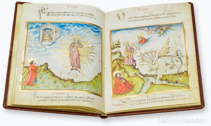 Libros antiguos: Apocalipsis iluminado de Lyon (facsimil) - Foto 2 - 111115239