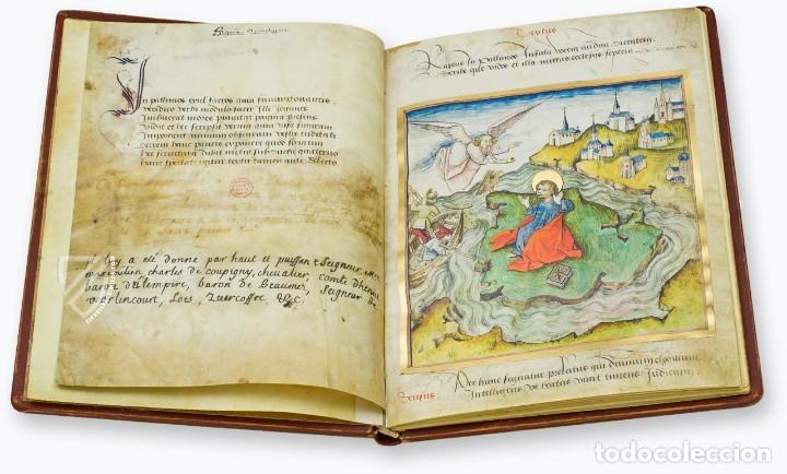 Libros antiguos: Apocalipsis iluminado de Lyon (facsimil) - Foto 3 - 111115239