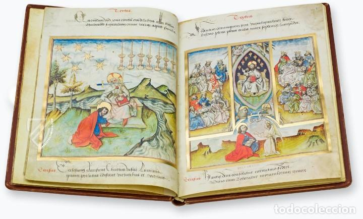 Libros antiguos: Apocalipsis iluminado de Lyon (facsimil) - Foto 4 - 111115239