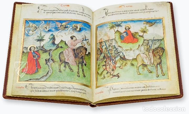 Libros antiguos: Apocalipsis iluminado de Lyon (facsimil) - Foto 6 - 111115239