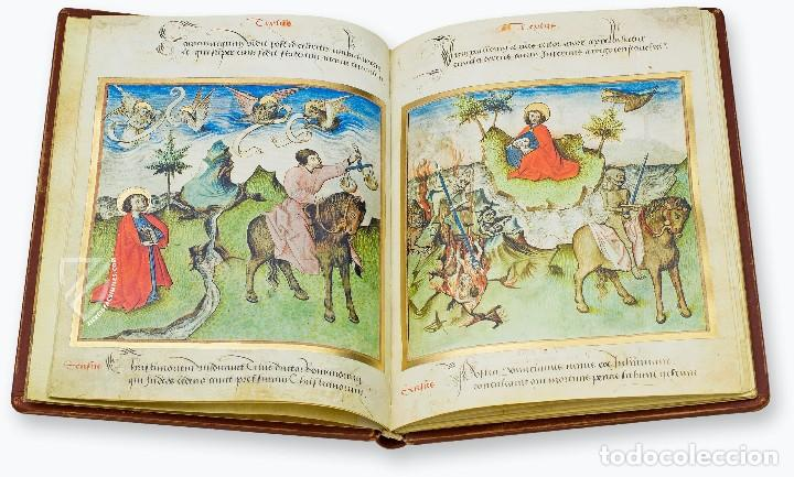 Libros antiguos: Apocalipsis iluminado de Lyon (facsimil) - Foto 7 - 111115239