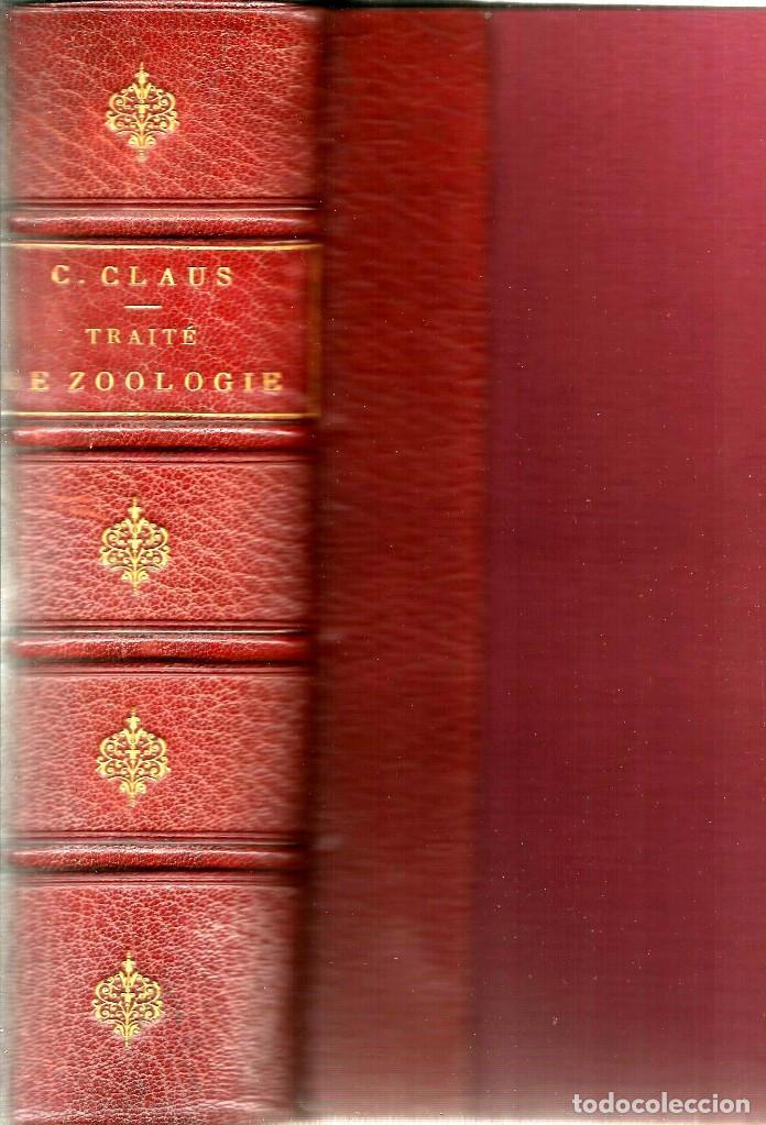 TRAITÉ DE ZOOLOGIE. PAR G. MOQUIN-TANDON (Libros Antiguos, Raros y Curiosos - Ciencias, Manuales y Oficios - Otros)