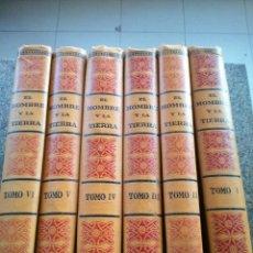 Libros antiguos: EL HOMBRE Y LA TIERRA -- 6 TOMOS -- ELISEO RECLUS - CENTRO ENCICLOPEDICO DE CULTURA 1933 --. Lote 111270087