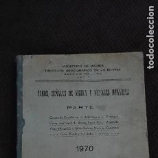 Libros antiguos: MINISTERIO DE MARINA INSTITUTO HIDROGRAFICO DE LA MARINA-1970. Lote 111274855