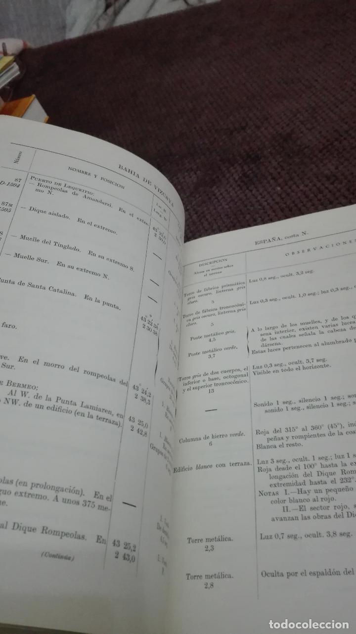 Libros antiguos: MINISTERIO DE MARINA INSTITUTO HIDROGRAFICO DE LA MARINA-1970 - Foto 5 - 111274855