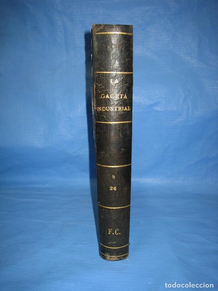 LA GACETA INDUSTRIAL. ECONÓMICA Y CIENTÍFICA 1890. REVISTA DE ELECTRICIDAD (Libros Antiguos, Raros y Curiosos - Bellas artes, ocio y coleccionismo - Otros)