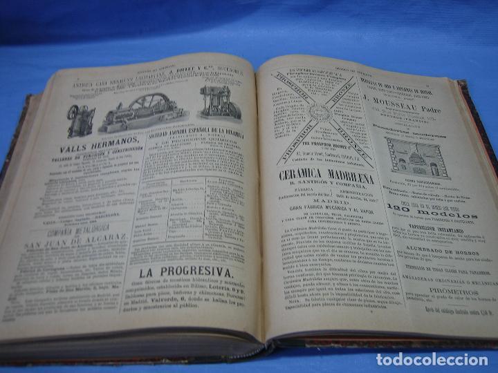 Libros antiguos: La gaceta industrial. Económica y científica 1890. Revista de electricidad - Foto 6 - 111460379