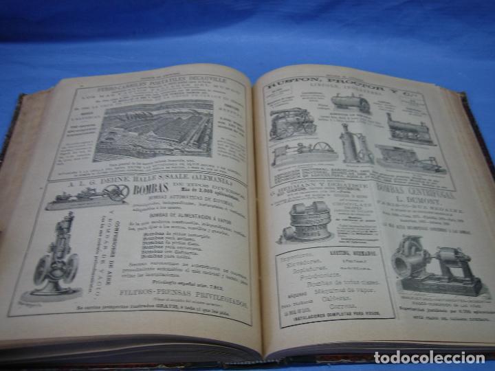 Libros antiguos: La gaceta industrial. Económica y científica 1890. Revista de electricidad - Foto 10 - 111460379