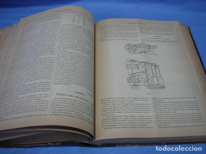 Libros antiguos: La gaceta industrial. Económica y científica 1890. Revista de electricidad - Foto 12 - 111460379