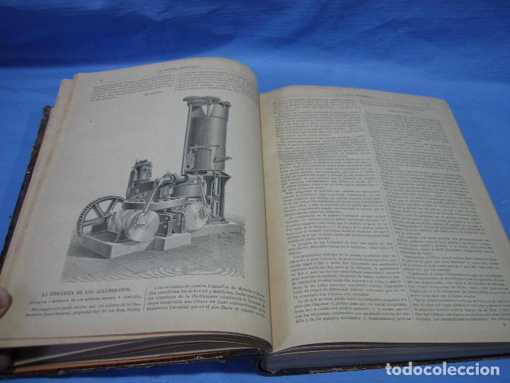 Libros antiguos: La gaceta industrial. Económica y científica 1890. Revista de electricidad - Foto 14 - 111460379