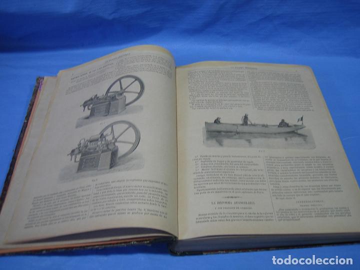 Libros antiguos: La gaceta industrial. Económica y científica 1890. Revista de electricidad - Foto 15 - 111460379