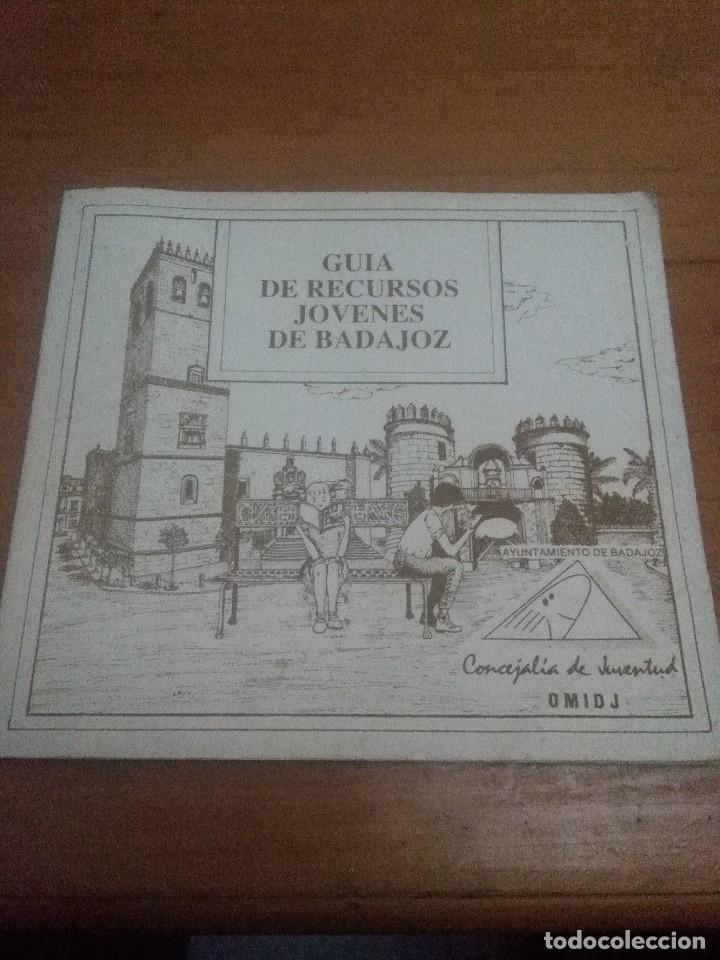 GUÍA DE RECURSOS JÓVENES DE BADAJOZ. EST17B4 (Libros Antiguos, Raros y Curiosos - Literatura Infantil y Juvenil - Otros)