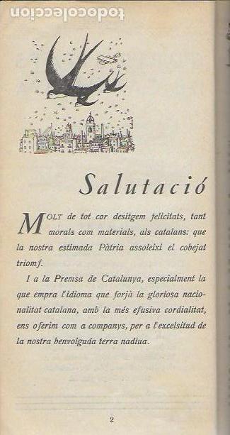 Libros antiguos: Setmanari Curiositats de Catalunya Volum 1 de l1 al 26. 22x12 cm. [806] pàg. + índexs semestre - Foto 3 - 111495811