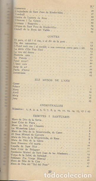 Libros antiguos: Setmanari Curiositats de Catalunya Volum 1 de l1 al 26. 22x12 cm. [806] pàg. + índexs semestre - Foto 7 - 111495811
