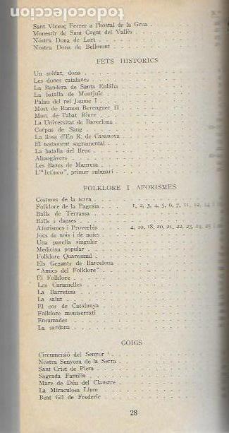 Libros antiguos: Setmanari Curiositats de Catalunya Volum 1 de l1 al 26. 22x12 cm. [806] pàg. + índexs semestre - Foto 8 - 111495811