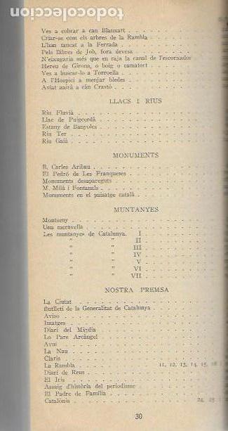 Libros antiguos: Setmanari Curiositats de Catalunya Volum 1 de l1 al 26. 22x12 cm. [806] pàg. + índexs semestre - Foto 10 - 111495811