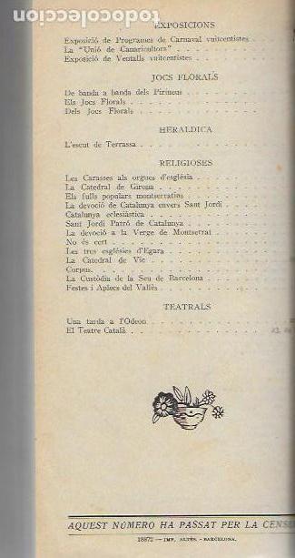 Libros antiguos: Setmanari Curiositats de Catalunya Volum 1 de l1 al 26. 22x12 cm. [806] pàg. + índexs semestre - Foto 12 - 111495811