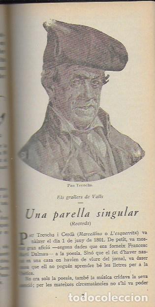 Libros antiguos: Setmanari Curiositats de Catalunya Volum 1 de l1 al 26. 22x12 cm. [806] pàg. + índexs semestre - Foto 15 - 111495811