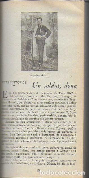 Libros antiguos: Setmanari Curiositats de Catalunya Volum 1 de l1 al 26. 22x12 cm. [806] pàg. + índexs semestre - Foto 25 - 111495811